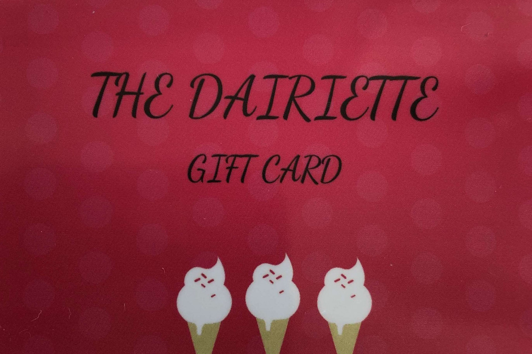 Gift Cards Available!